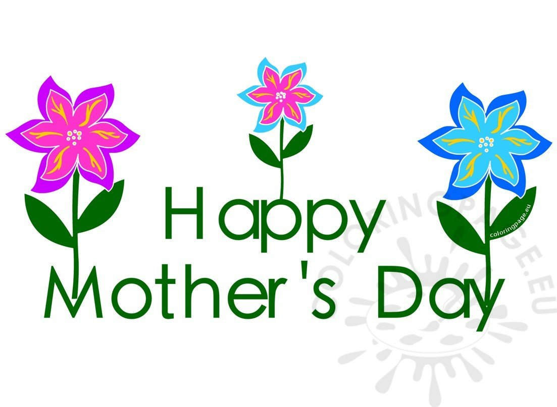 Clipart mothers day 2017 flowers.