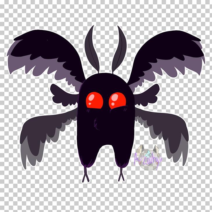 Mothman Drawing Art, mothman PNG clipart.