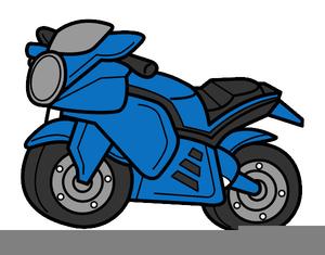 Clipart Moto Trial.