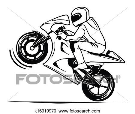 Moto race Clipart.