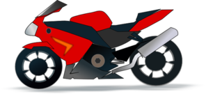 Motor Bike Clip Art at Clker.com.