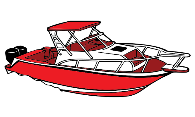 Clipart motorboat Transparent pictures on F.