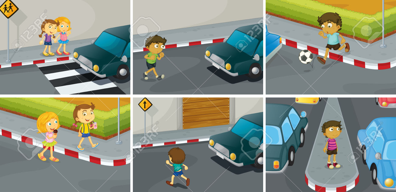 11370 Road free clipart.