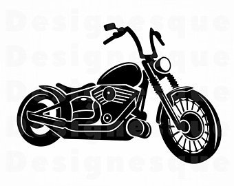 Motorcycle clipart.