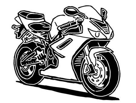 13 134 Motorcycle Silhouette Cliparts Stock Vector And Royalty Free.