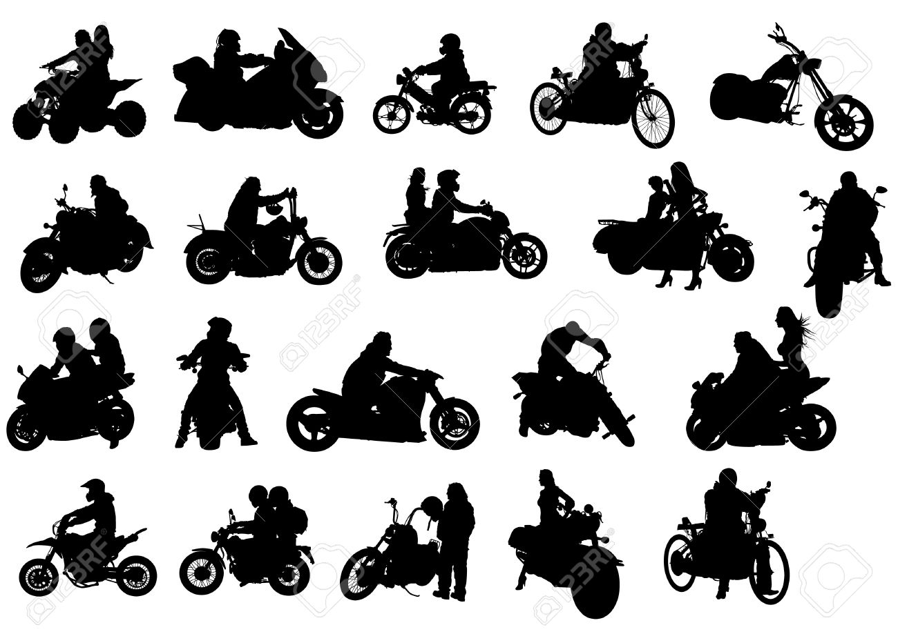 Clipart motorcycle boots.