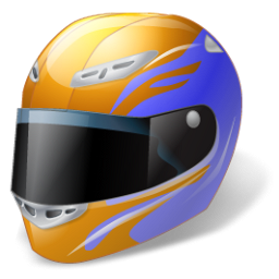 Full Head Helmet Icon, PNG ClipArt Image.