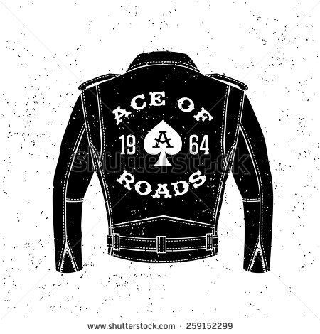 Biker Jacket Stock Images, Royalty.