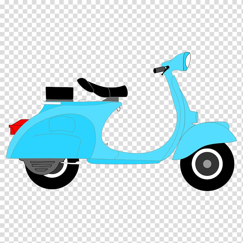 Scooter Moped Motorcycle Vespa , Bear Flying Plane Cartoon.