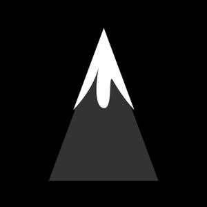 393 mountain clip art free vector.