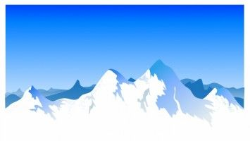 Mountain Range Background.