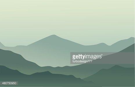 Mountains Background premium clipart.