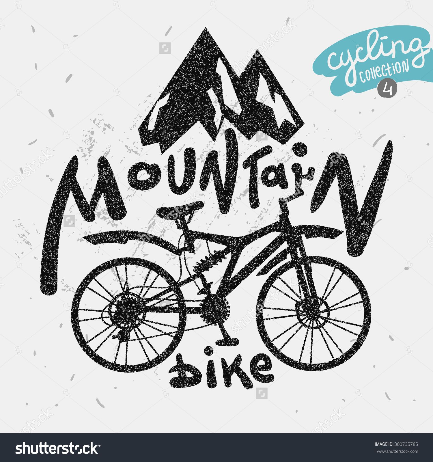 mountain biking clip art.