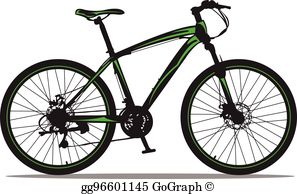 Mountain Bike Clip Art.