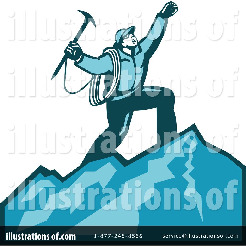 Mountain Climbing Clipart #1214963.