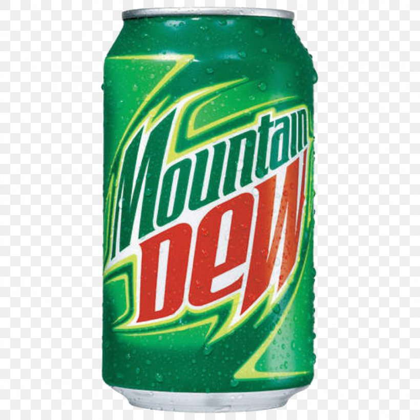 Soft Drink Beer Mountain Dew Beverage Can, PNG, 1024x1024px.