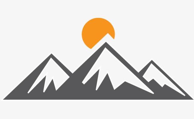 Clipart mountain peak » Clipart Portal.
