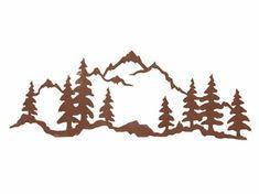 Mountain trees clipart 1 » Clipart Portal.