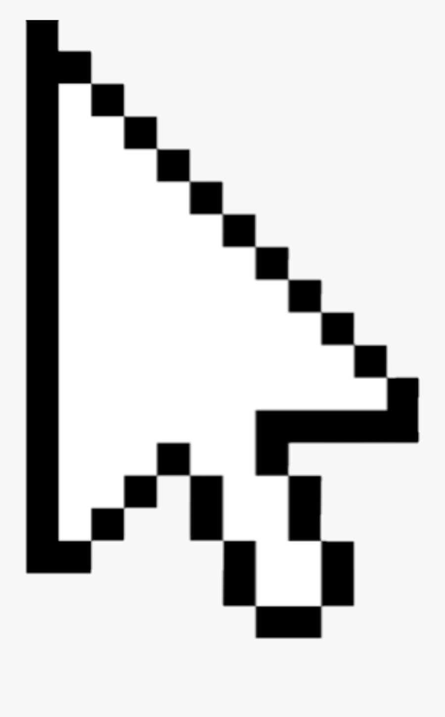 Computer Mouse Pointer Cursor Transparency Clip Art.