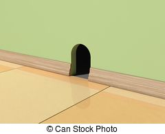Mouse hole Illustrations and Clip Art. 487 Mouse hole.