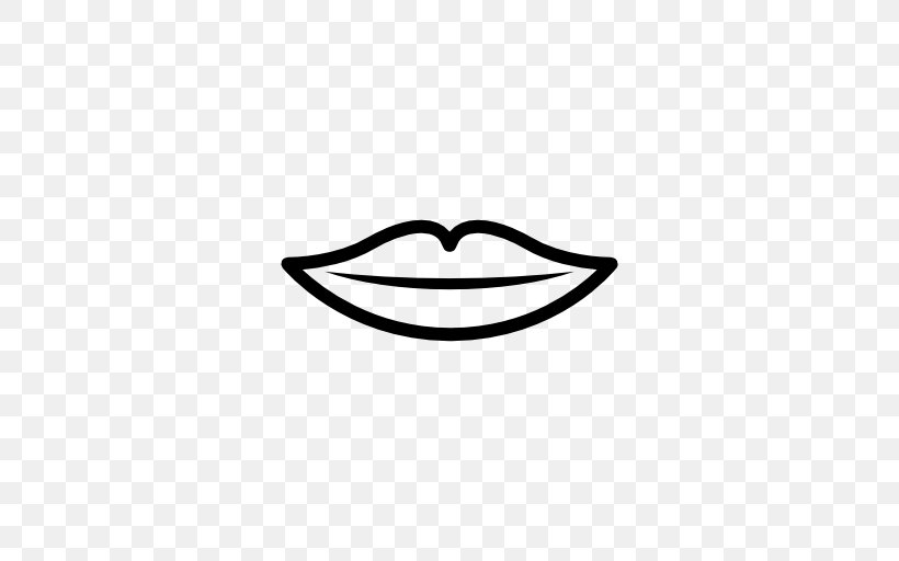 Mouth Lip Clip Art, PNG, 512x512px, Mouth, Black, Black And.