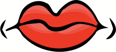 Closed Mouth Clip Art.