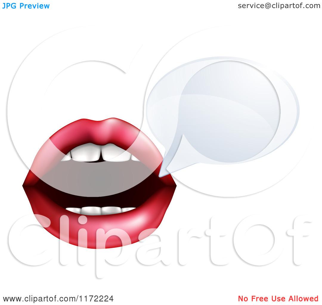 Talking Mouth Clip Art.