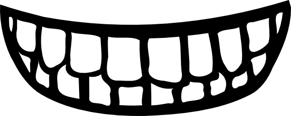 Image of Cartoon Smiley Mouth #5962, Smile Mouth Teeth Clip Art At.