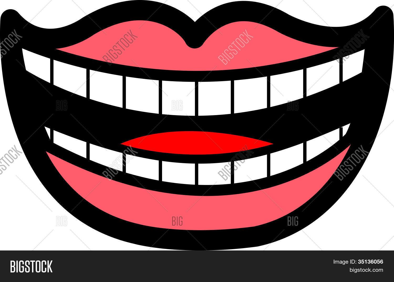 Mouth Smile Teeth Clip Art Stock Vector & Stock Photos.