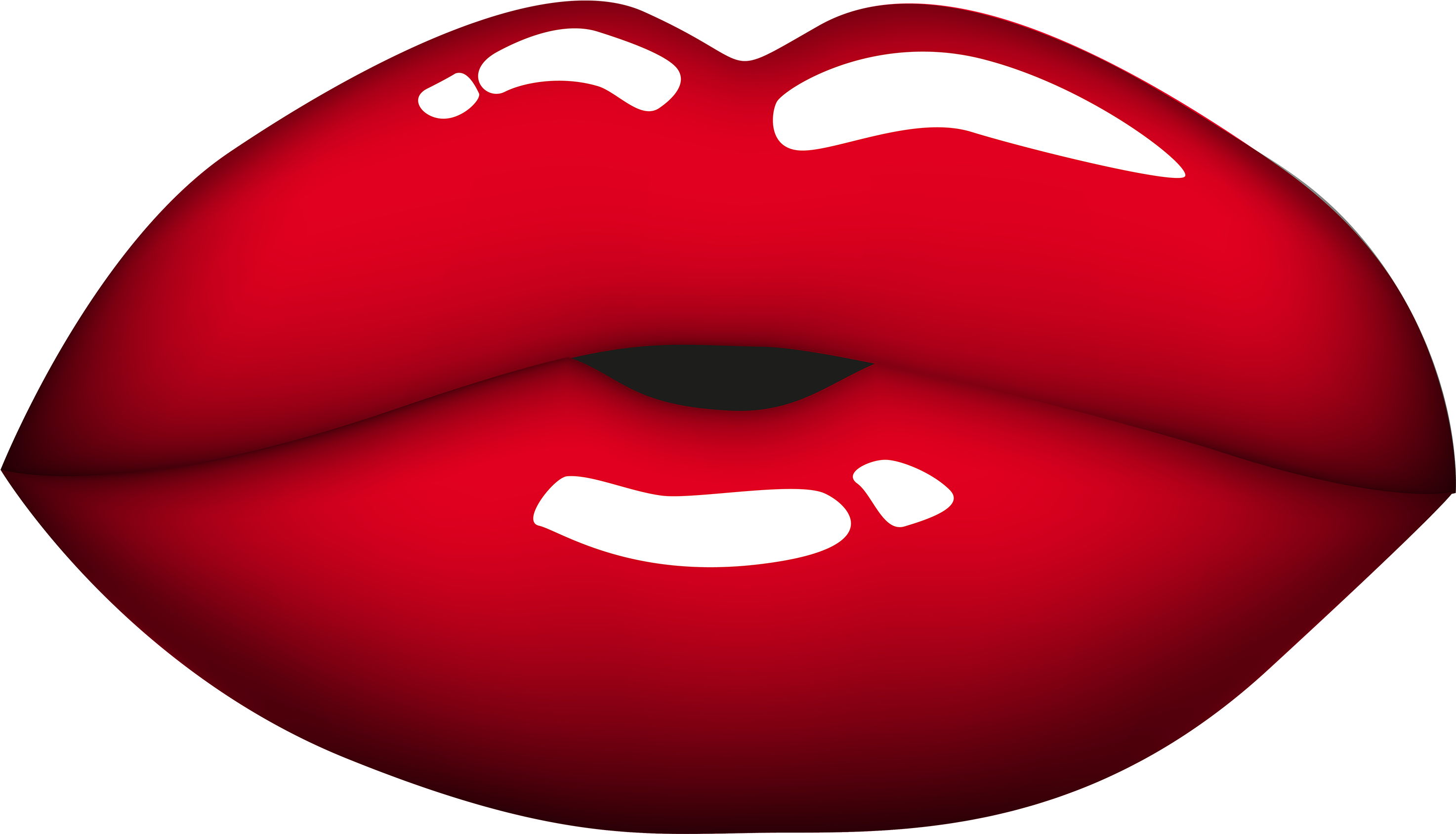 Red Mouth Png Clipart.