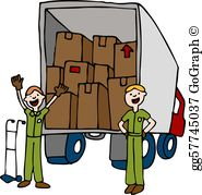 Movers Clip Art.