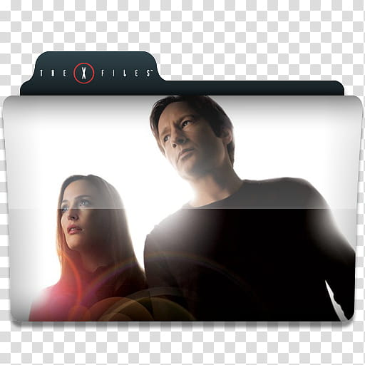 Windows TV Series Folders W X, The X Files movie cover.