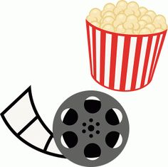 At The Movies SVG scrapbook files movie svg file for.