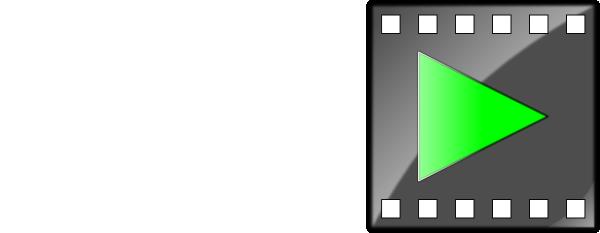 Avi Movie File Icon clip art (104703) Free SVG Download / 4.