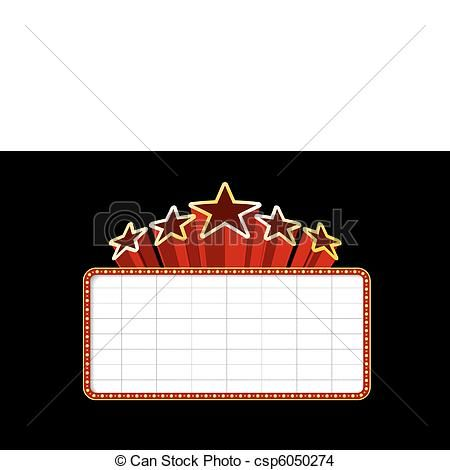 movie theater marquee clipart free.