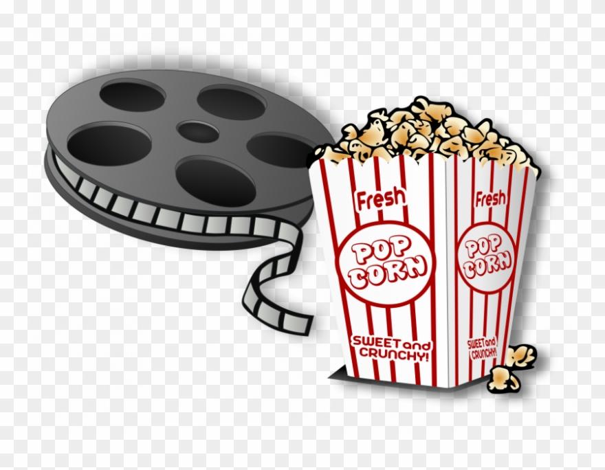 Movie And Popcorn Cartoon Clipart (#421917).