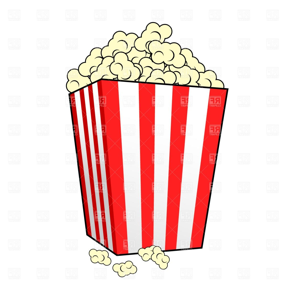 Movie And Popcorn Clipart.