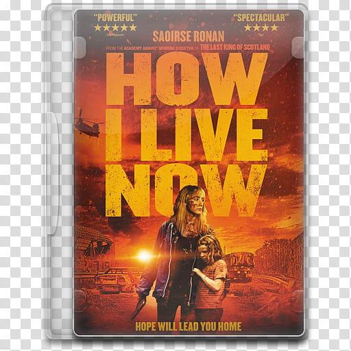 Movie Icon Mega , How I Live Now, How I Live Now movie.