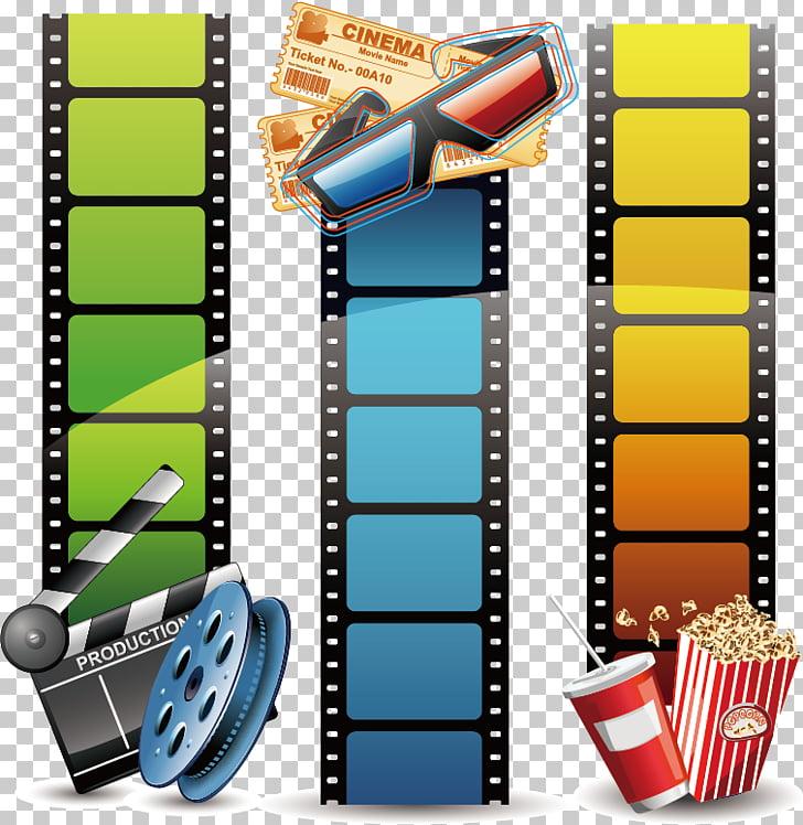 Filmstrip , Fashion film filmstrip background material.