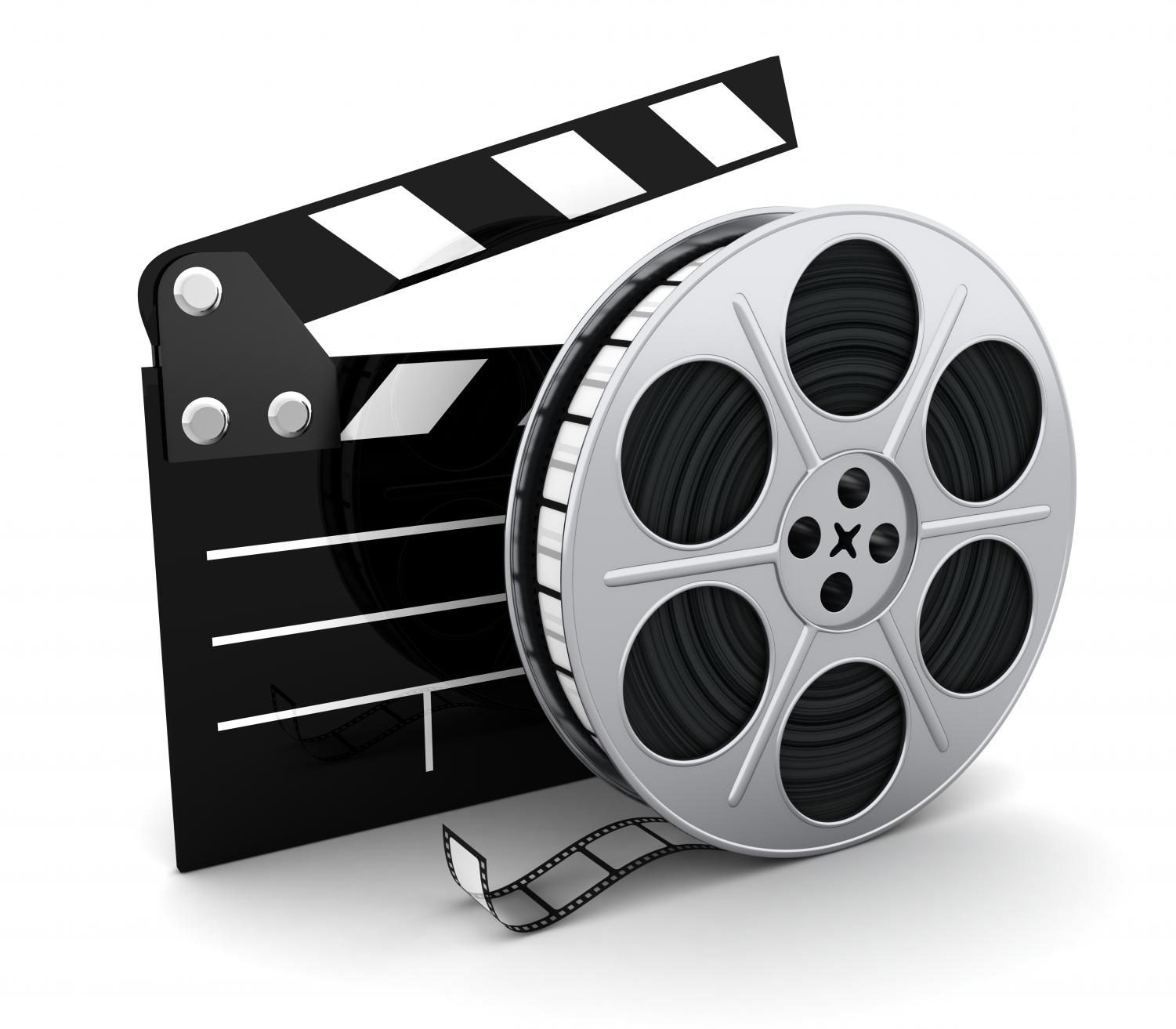 Clipart movie reels 1 » Clipart Station.
