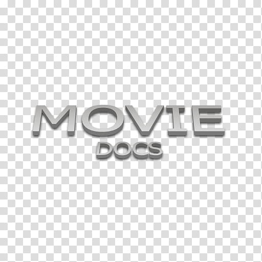 Flext Icons, Movie, blue background with movie docs text.
