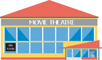 Movie clipart movie theatre.