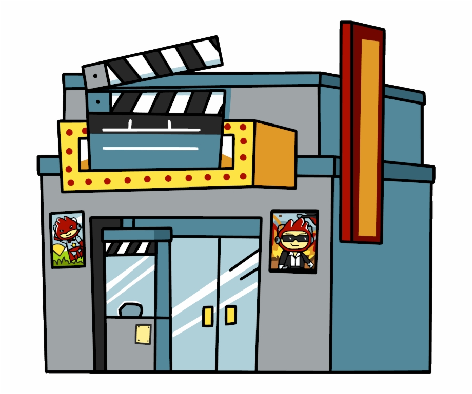 Cinema Clipart Movie Theatre.