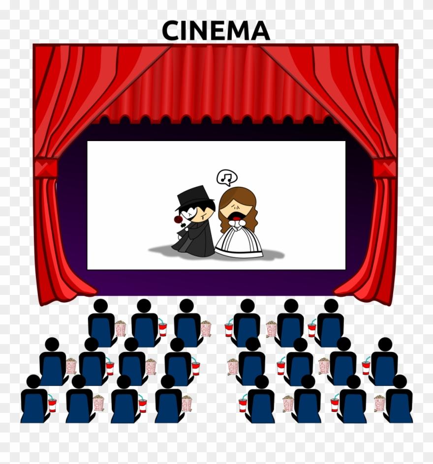 Movie Theatre Clipart.