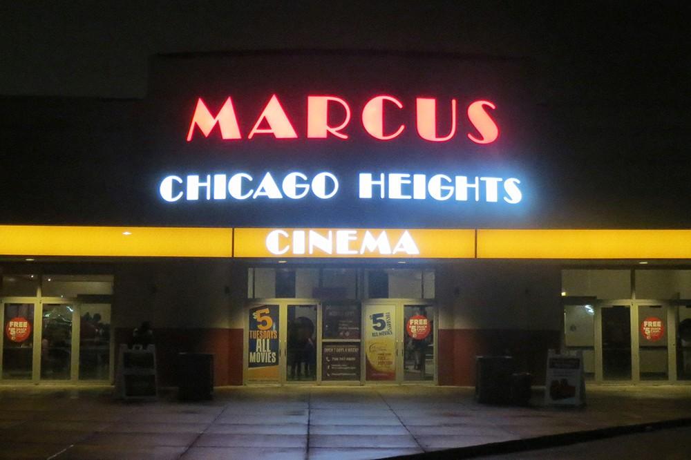 Chicago Heights Movie Theatre.