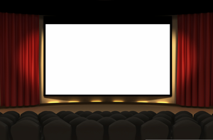 Clipart Movie Theaters.