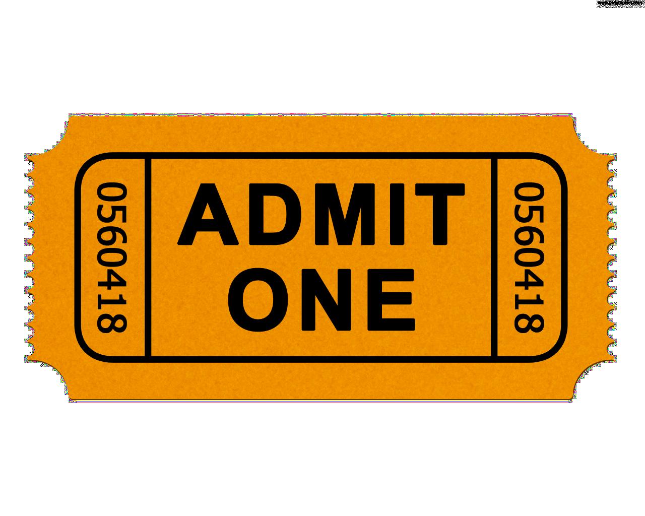Ticket Admit One Cinema Clip art.