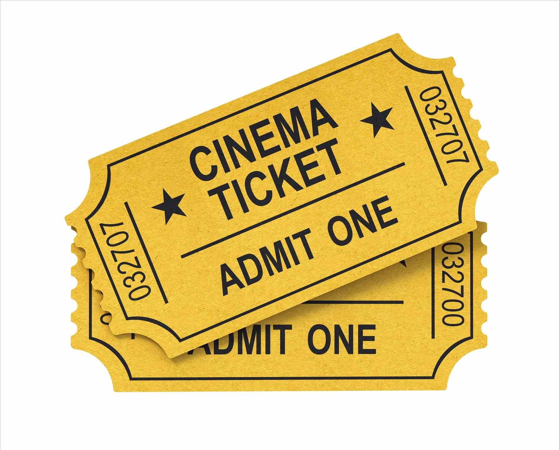 448 Movie Ticket free clipart.