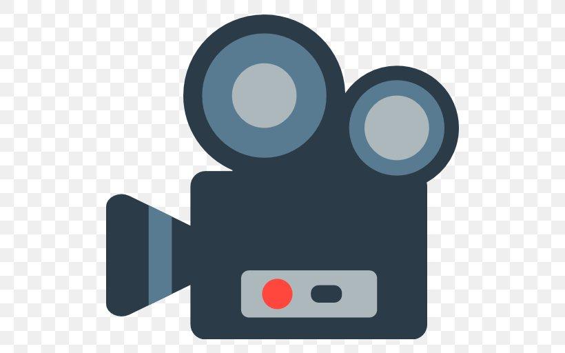 Emoji Film Movie Camera Cinema Photography, PNG, 512x512px.