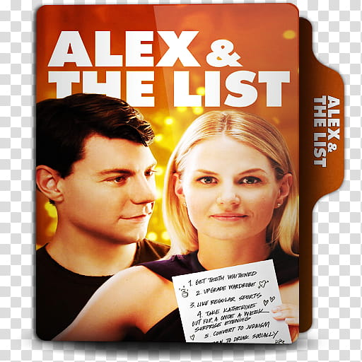 Movies Folder Icon , Alex & The List transparent background.